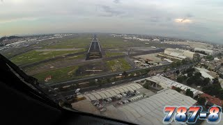 PilotCAM Boeing 787 into Mexico City
