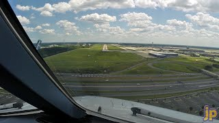 PilotCAM A340 into Washington Dulles