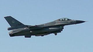 """F16 Fighting Falcon """"Viper"""" Town Leeuwarden"""