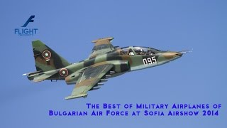 Airshow: Skilled Military Pilots Fly Russian Jet Airplanes in Sofia