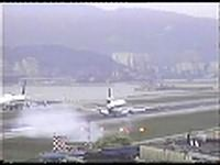 Alitalia MD11 Hard Landing