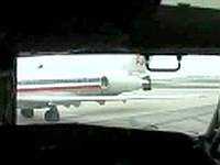 AA MD pushback without Tow-Truck