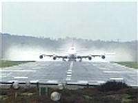 Boeing 747-200 Dramatic Take Off Bournemouth