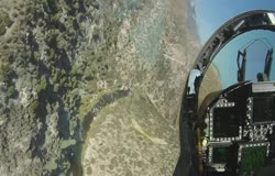 F18 Low Level Flying