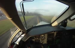 A flight on the Pilatus PC-12 with Pilot's View
