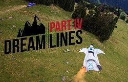 DreamLines IV Wingsuit Proximity Awesome Video
