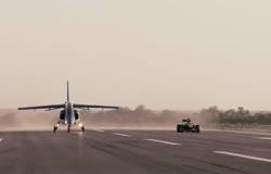 F1 Red Bull Vs Pampa Fighter Jet