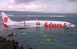 Bali Plane Crash Footage