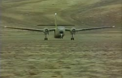 Dhc-4 Caribou No-Flap Landing