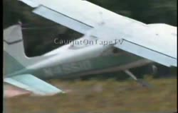 Cessna Crash During Takeoff