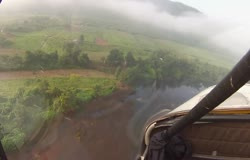 Ultralight flying with GoPro Hero_Hemmed in by a layer of clouds