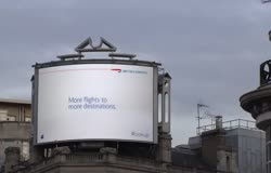 British Airways AWESOME Billboard Advertising