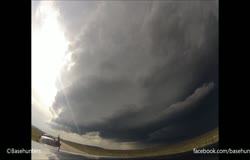 Thunderstorm Supercell Time-Lapse