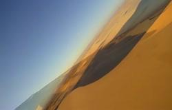 Flying the Wyoming Desert