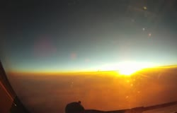 B777 Flying Timelapse with Go-Pro Camera