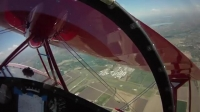 Pitts S-1T pilot view GREAT VIDEO