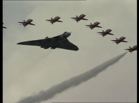 Avro Vulcan XH558's Final DIsplay