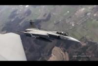 JAS-39 training flight