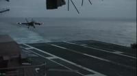 F18 Hornet Landing at Dusk