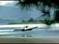 New Zealand Inventor Creates Flying Hovercraft