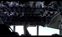 C-130 Dropping Oil Dispersant
