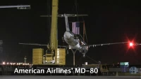 American Airlines MD80 journey to aviation school