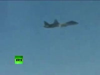 Second test flight of PAK FA T-50