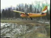 Twin Otter short landing and takeoff