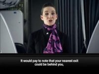 Air New Zealand Crazy About Rugby Safety Demo